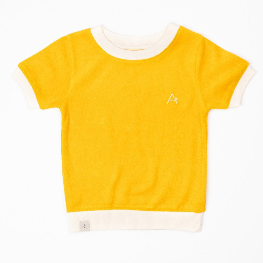 AlbaVesta T-shirt - Old Gold