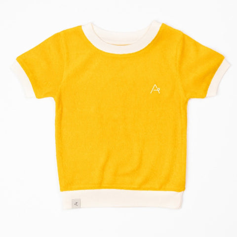 Image of AlbaVesta T-shirt - Old Gold