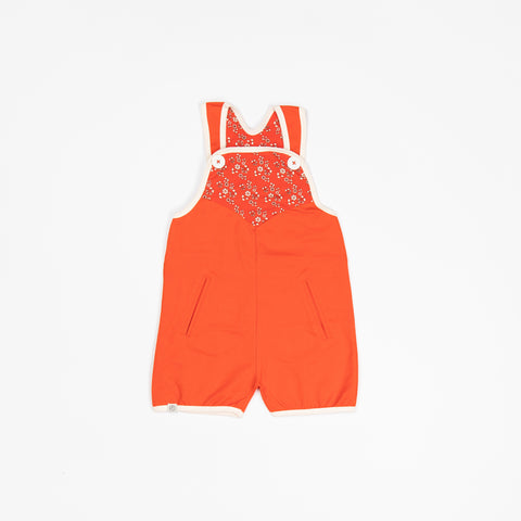 Alba Short Flower Crawlers - Spicy Orange