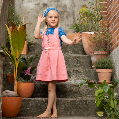 Image of Alba Growing Garden Dress - Strawberry Ice