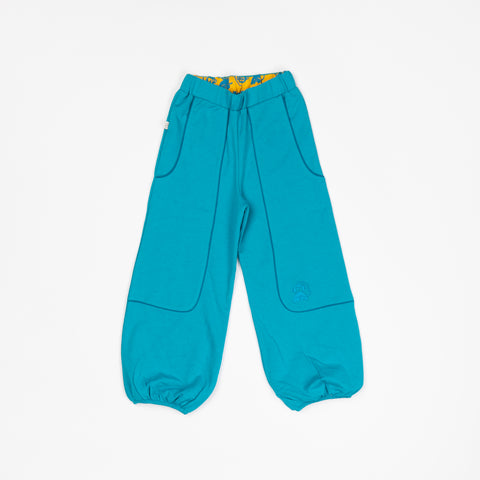 Image of Alba Hobo Baggy Pants -  Algiers Blue
