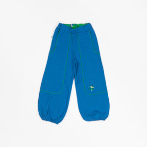 Alba Hobo Baggy Pants -  Snorkel Blue