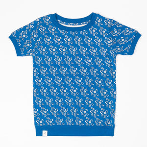 Alba Alberte T-shirt - Snorkel Blue L Liberty Love