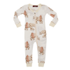 Image of Organic Bamboo Toddler Pyjama with Tutu Elephant design