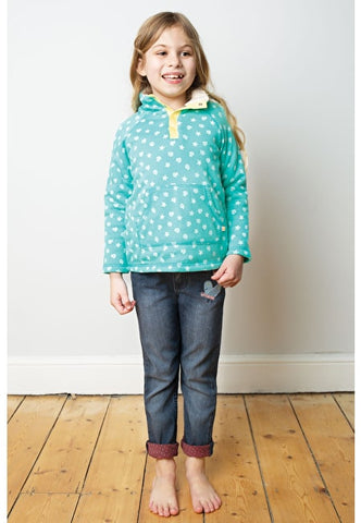 Image of Frugi Snuggle Fleece - St Agnes Shell Polka - Tilly & Jasper