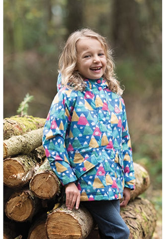 Frugi Nellie Explorer Waterproof Coat - Happy Hikers
