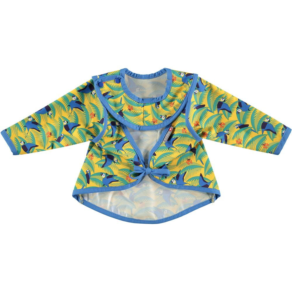 Close Bib Stage 3 - Endangered Jungle Collection - Parrot