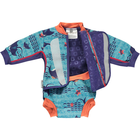 Close Baby Cosy Suit - Endangered Animals Collection 2020 - Mantaray