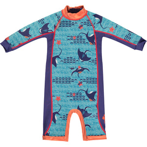 Close Toddler Snug Suit - Endangered Animals Collection 2020 - Mantaray