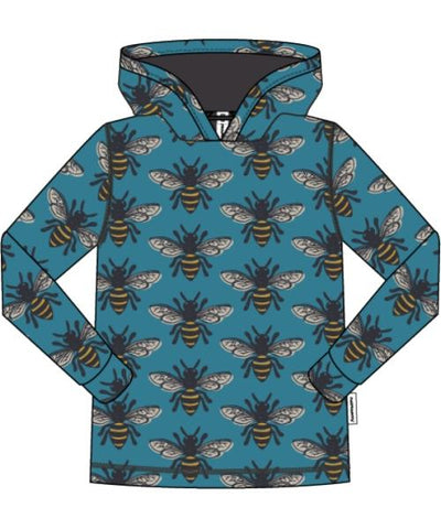 Maxomorra Long Sleeve Hood - Bee