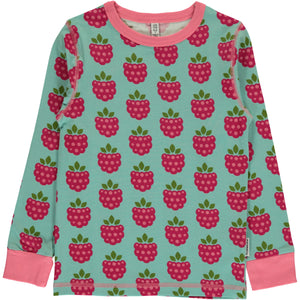 Maxomorra LS Top - Raspberry
