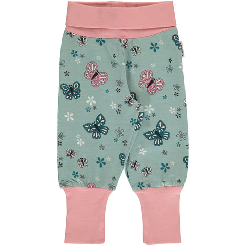 Maxomorra Pants Rib - Butterfly