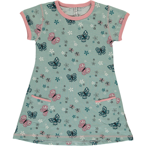 Maxomorra Short Sleeve Tunic - Butterfly
