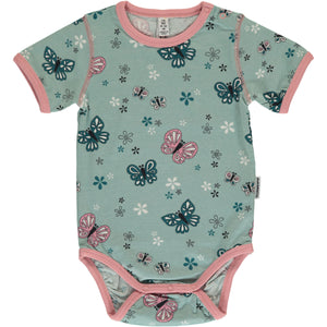 Maxomorra Short Sleeve Body - Butterfly