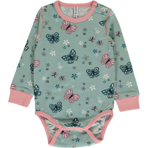 Maxomorra Long Sleeve Body - Butterfly