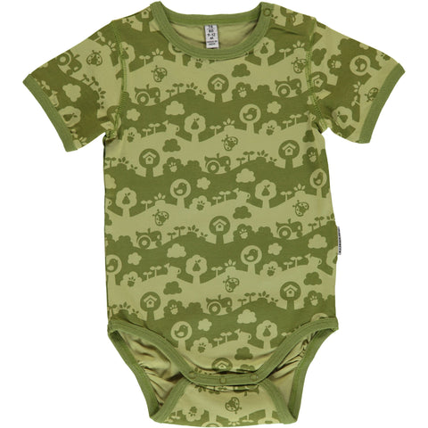 Maxomorra Short Sleeve Body - Garden Landscape