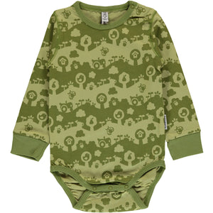Maxomorra Long Sleeve Body - Garden Landscape