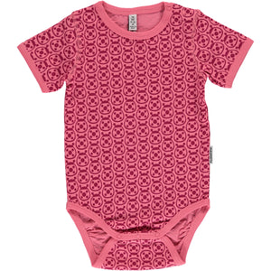 Maxomorra Short Sleeve Body - Ladybug