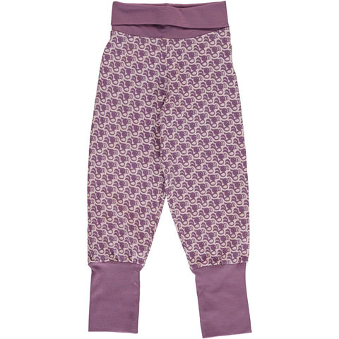 Maxomorra Pants Rib - Toucan