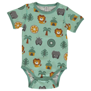 Maxomorra Short Sleeve Body - Jungle