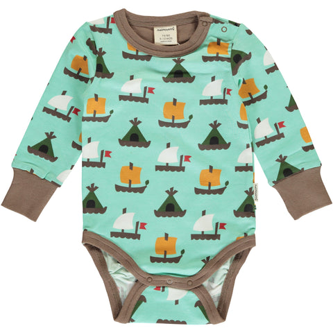 Maxomorra Long Sleeve Body - Raft Race