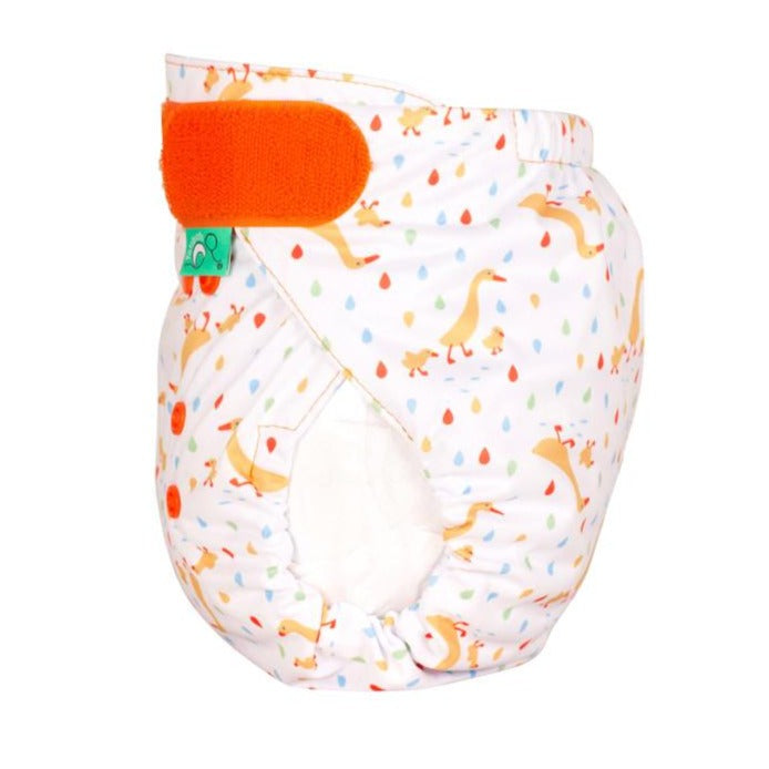 TotsBots Easy Fit Star Nappy - Runner Ducks