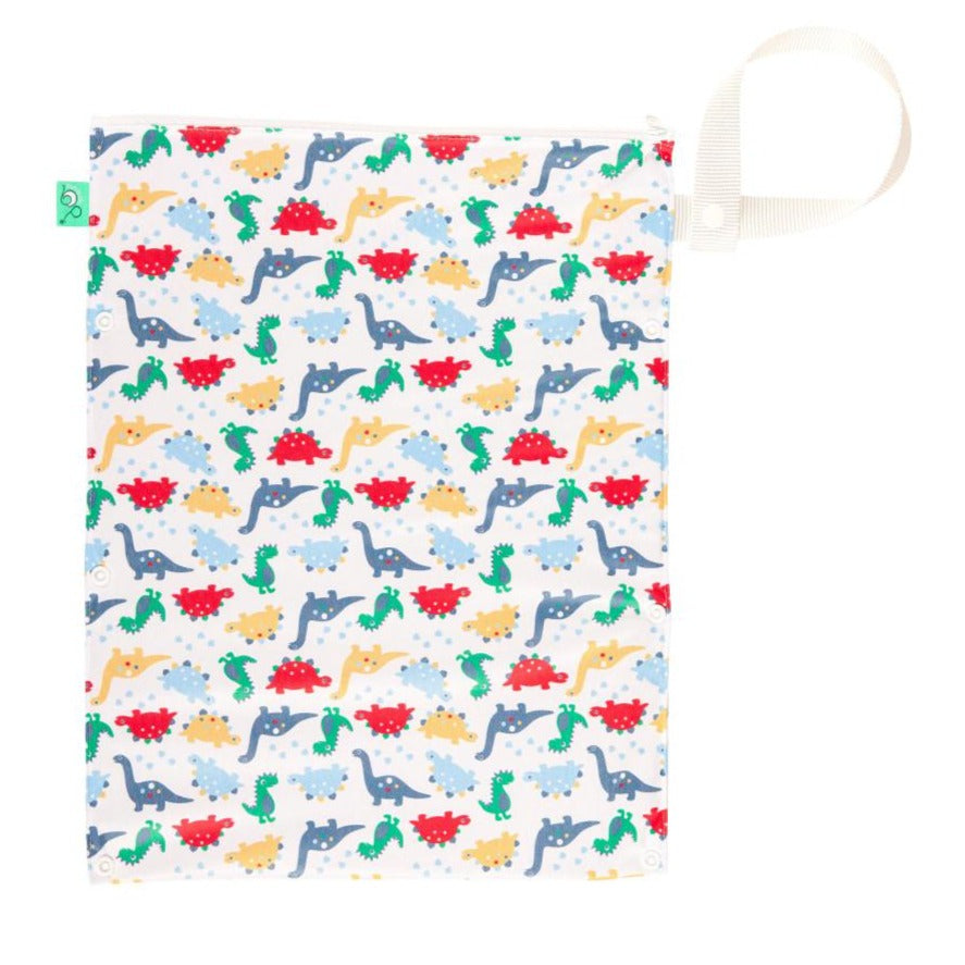 TotsBots Wet & Dry Nappy Bag - Dino March