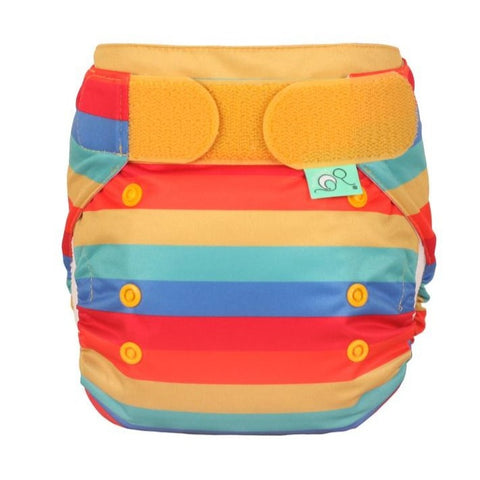 Image of TotsBots Easy Fit Star Nappy - Rainbow Stripe