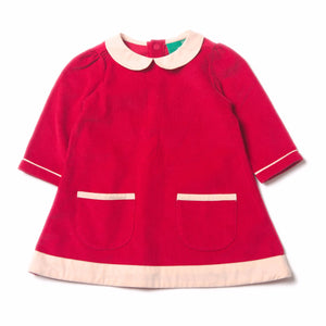 LGR Raspberry Tunic Cord Dress