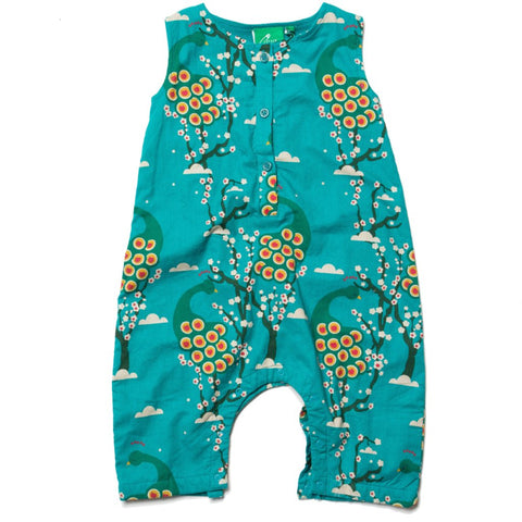 Image of LGR Midnight Peacocks Dungarees