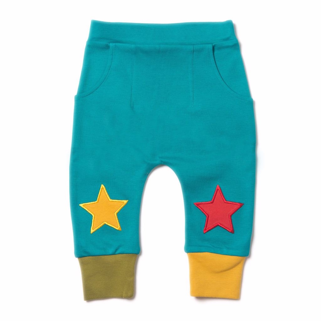 LGR Peacock Blue Star Jogger