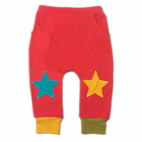 Red Star Jogger - Organic Fairtrade Cotton