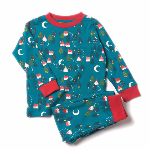 Organic Fairtrade Cotton - Forest Footprints PJ's