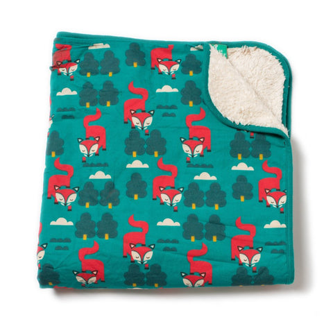 LGR Blanket - Winter Fox - Organic Cotton