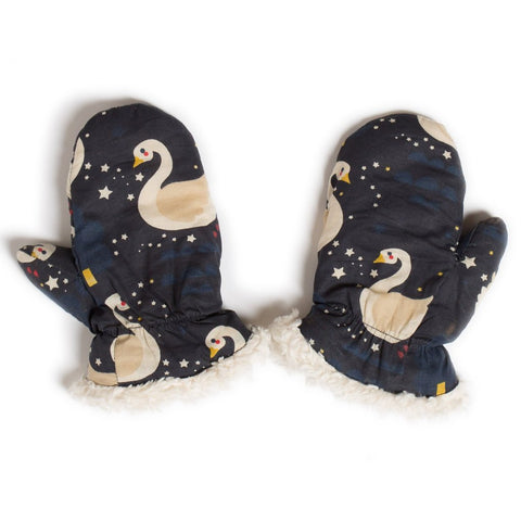 Image of LGR Mittens - Night Swimming - Organic Cotton