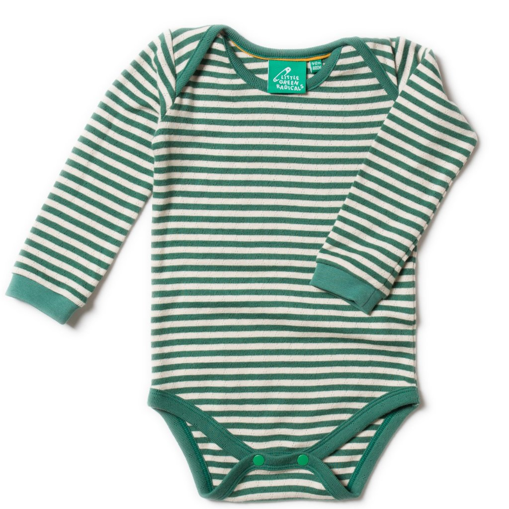 LGR Pointelle Body - Fir Stripe