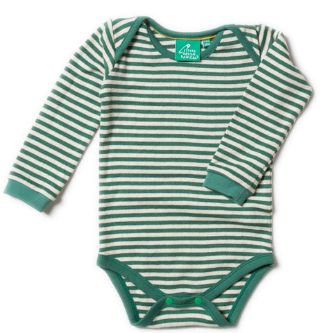 Image of LGR Pointelle Body - Fir Stripe
