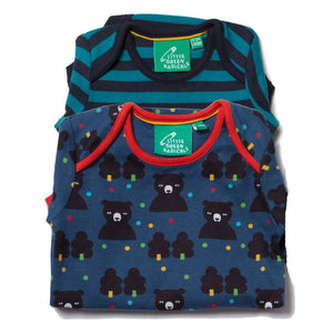 LGR Two Pack Baby Body Set - Winter Bear