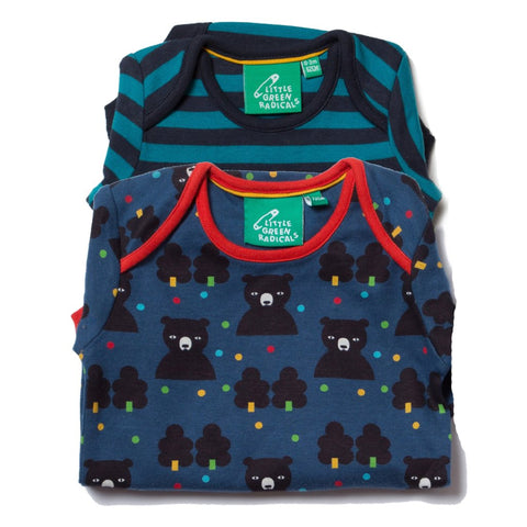 Image of LGR Two Pack Baby Body Set - Winter Bear