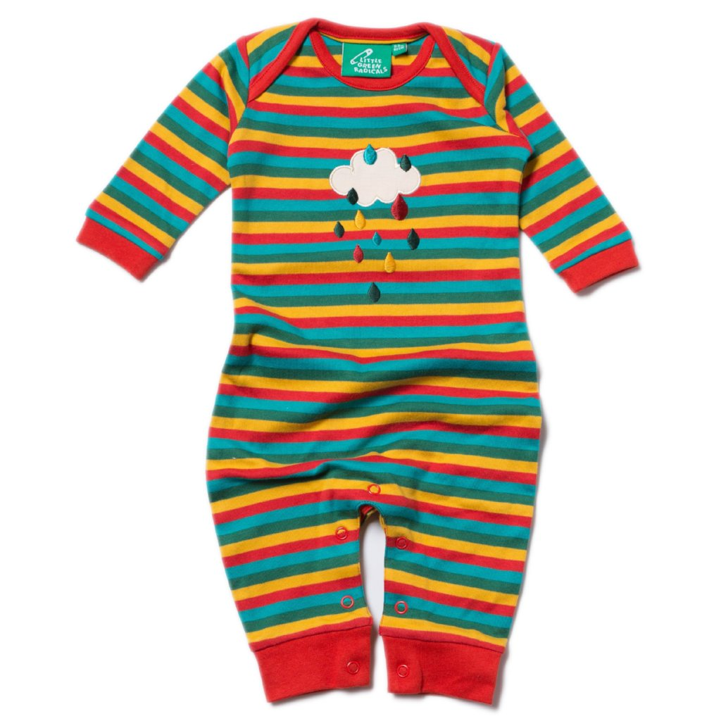LGR Applique Playsuit - Falling Water