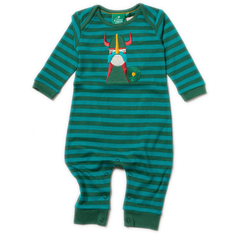 LGR Applique Playsuit - Nordic Vikings