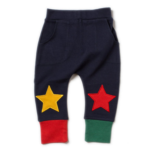 LGR Navy Star Jogger AW18 - Organic Cotton