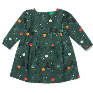 LGR Smock Dress - Northern Lights - Organic Cotton