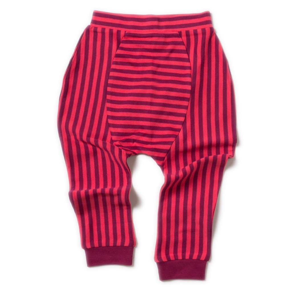 LGR Jelly bean Joggers - Teaberry- Organic Cotton