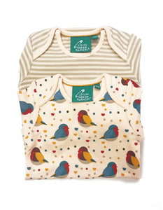 LGR Baby Body 2 Pack Set - Rainbow Robins