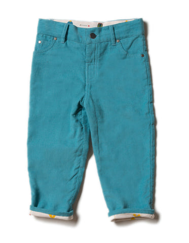 LGR Cosy Cord Jeans - Mountain Blue