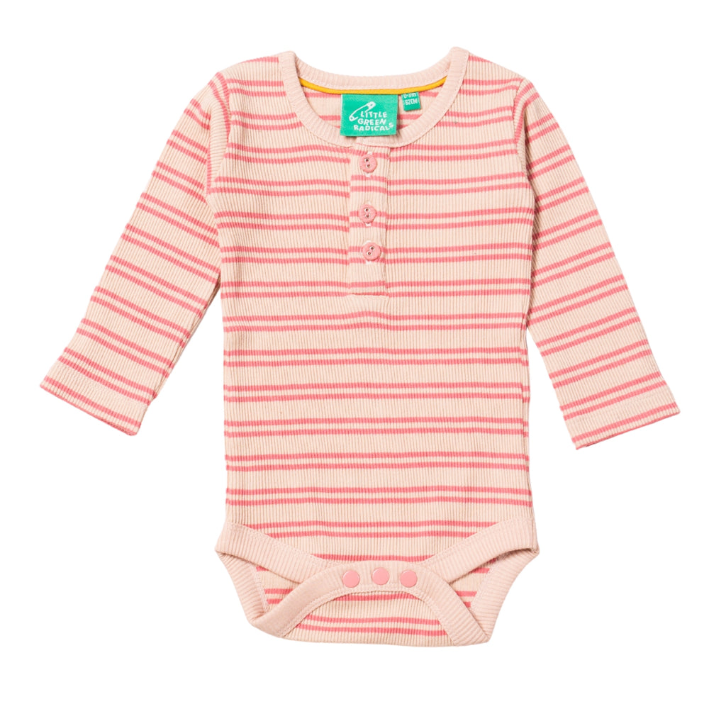 LGR Sugar Pink Stripes Forever Babybody