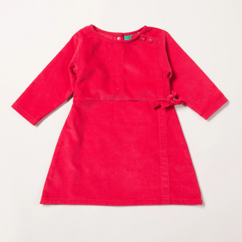 Image of LGR Wrap Up Well Raspberry Dress