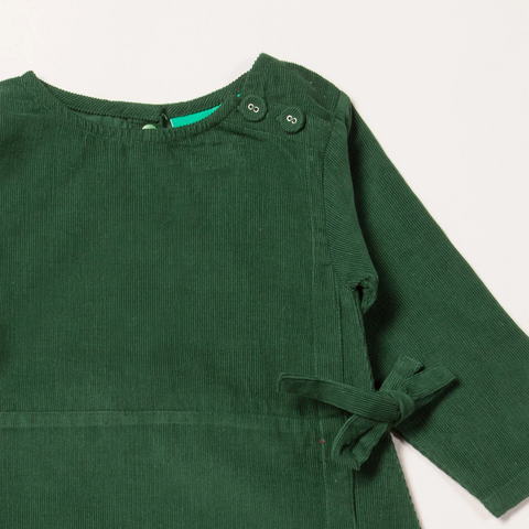LGR Wrap Up Well Vintage Green Dress