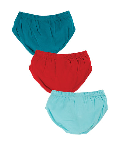 Image of Frugi Barney Briefs 3 Pack - Tractor Multipack